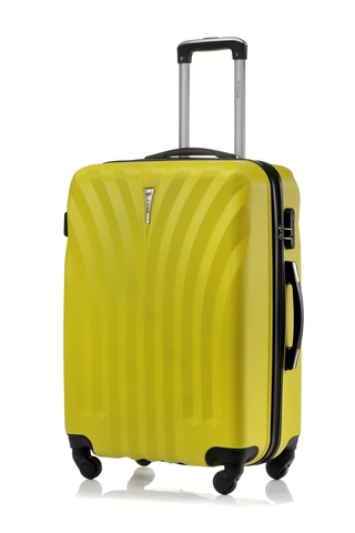 Чемодан со съемными колесами L'case Phuket-24 Желтый (M+)