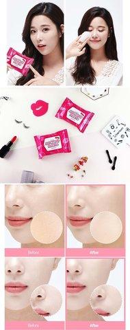 Пады для снятия макияжа Berrisom SOS! Make Up Refresh Pad