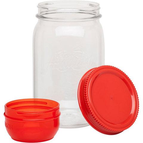 Контейнер Aladdin Classic Mason (1 литр), красный