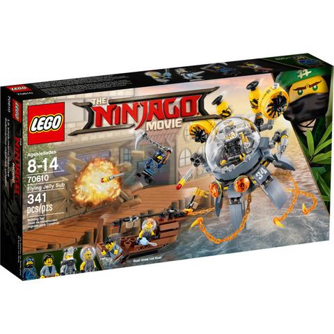 LEGO Ninjago Movie: Летающая подводная лодка 70610 — Flying Jelly Sub — Лего Ниндзяго Муви