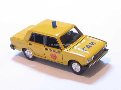 VAZ-2105 Lada GAI Police USSR Agat Mossar Tantal 1:43