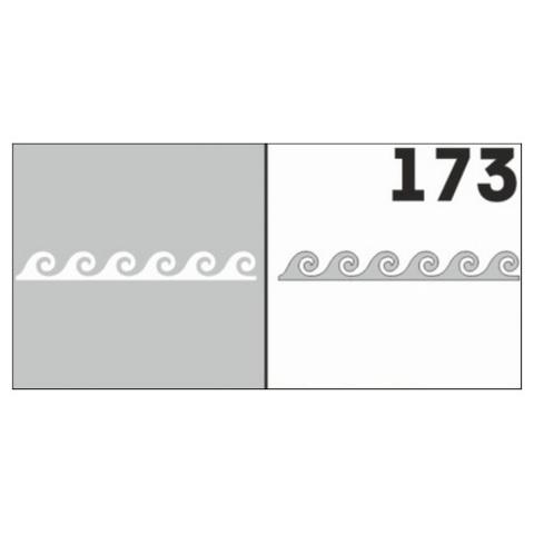Трафарет для ногтей 6 шт. /1 уп. №173