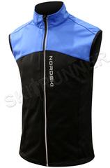 Детский лыжный жилет Nordski Active Blue-Black 2020