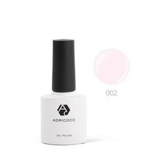 Цветной гель-лак ADRICOCO №002 нежно-розовый (8...