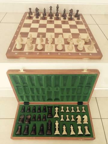 Шахматы Стаунтон №6 с доской