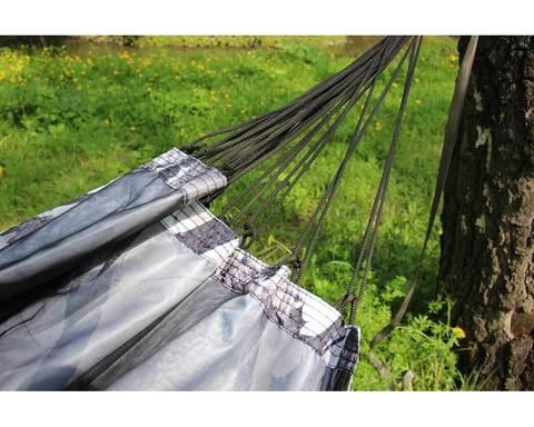 Гамак с москитной сеткой камуфляж лес 1