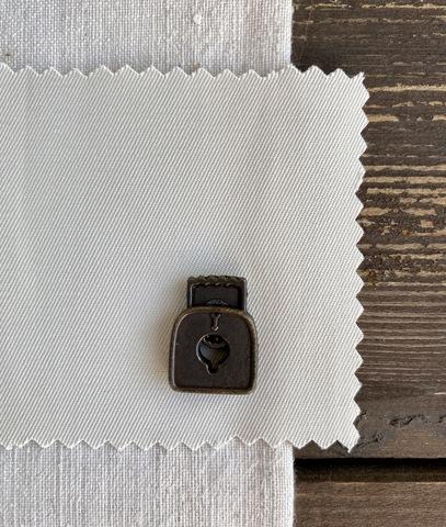 Фиксаторы для шнура, 2шт., бронза