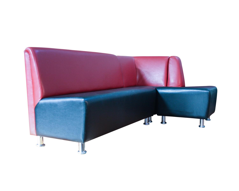 Комбинация из 3-местного дивана, закрытого угла и открытого угла Дели