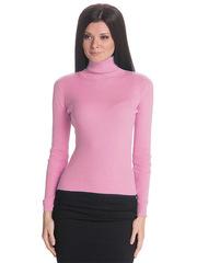 1451-14 водолазка женская, розовая