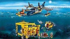 Конструктор Lepin 02088  Глубоководная Исследовательская База 1016 дет.