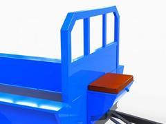 Прицеп для мотоблока Скаут грузоподъемностью 1000 кг.