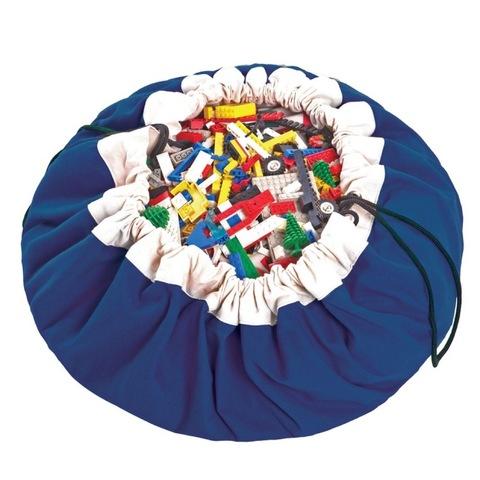 Коврик-мешок для игрушек Play&Go. Коллекция Classic. Синий
