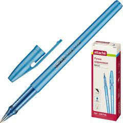 Ручка шариковая Attache Basic синяя (толщина линии 0.5 мм)