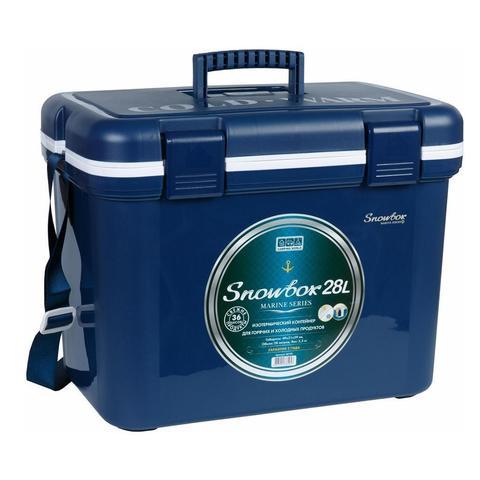 Изотермический контейнер (термобокс) Camping World Snowbox (28 л.), синий