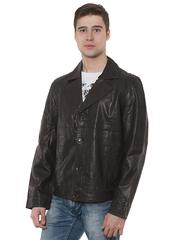 G12026 куртка мужская, темно-коричневая