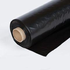 Плёнка 120 мкм, ширина 1,5 м, 1 м.п. черная