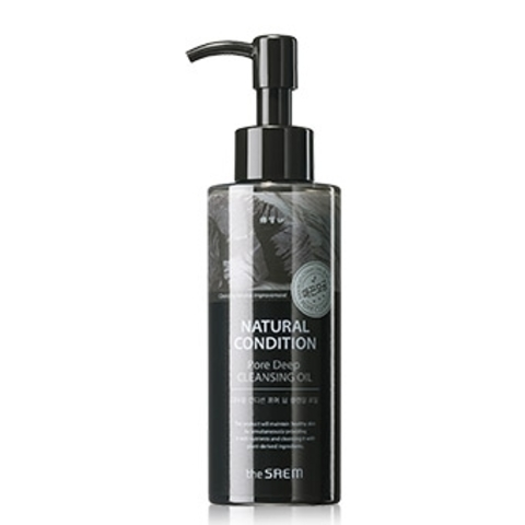 THE SAEM Natural Condition Масло очищающее поры Natural Condition Pore Deep Cleansing Oil 150мл