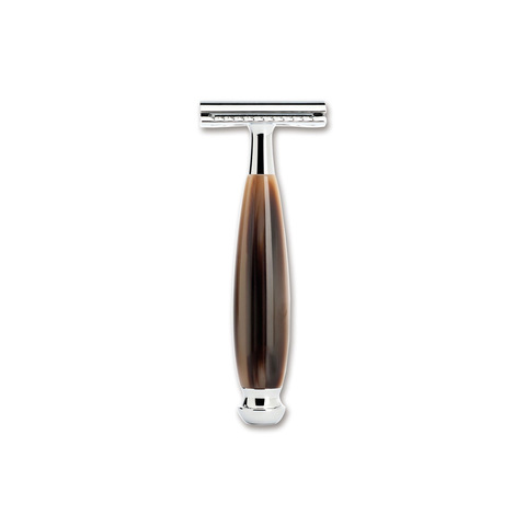 Бритвенный станок Boker 04BO195SOI Safety Razor Resin Brown