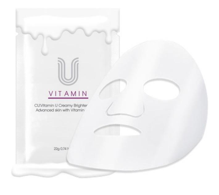 Купить Маска для Сияния Кожи CU: Vitamin U Creamy Brightening Mask