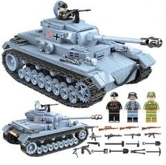 Конструктор серия Армия Танк Панцеркампфваген