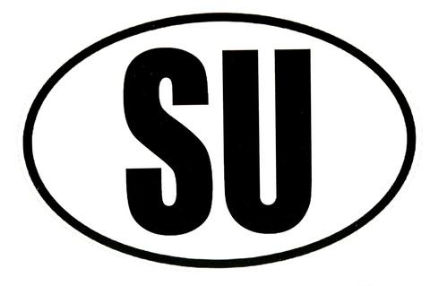 Наклейка SU
