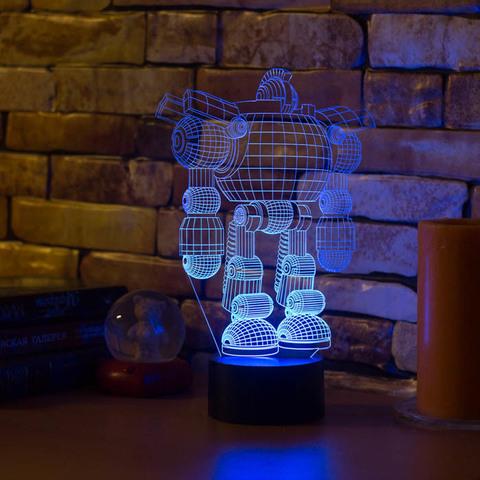 Лампа Робот
