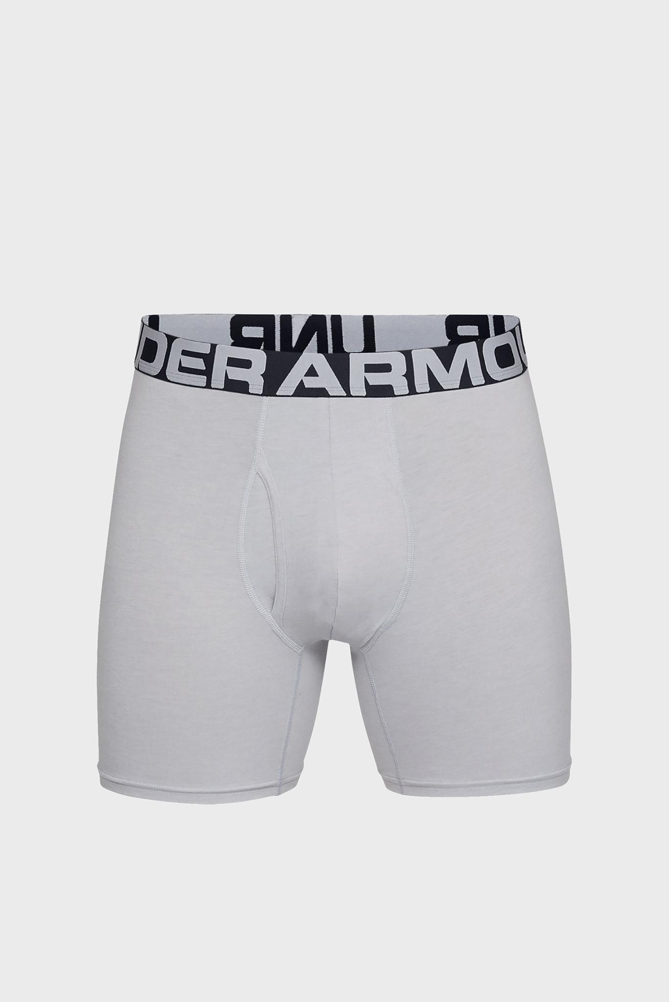 Мужские серые боксеры (3 шт) Under Armour