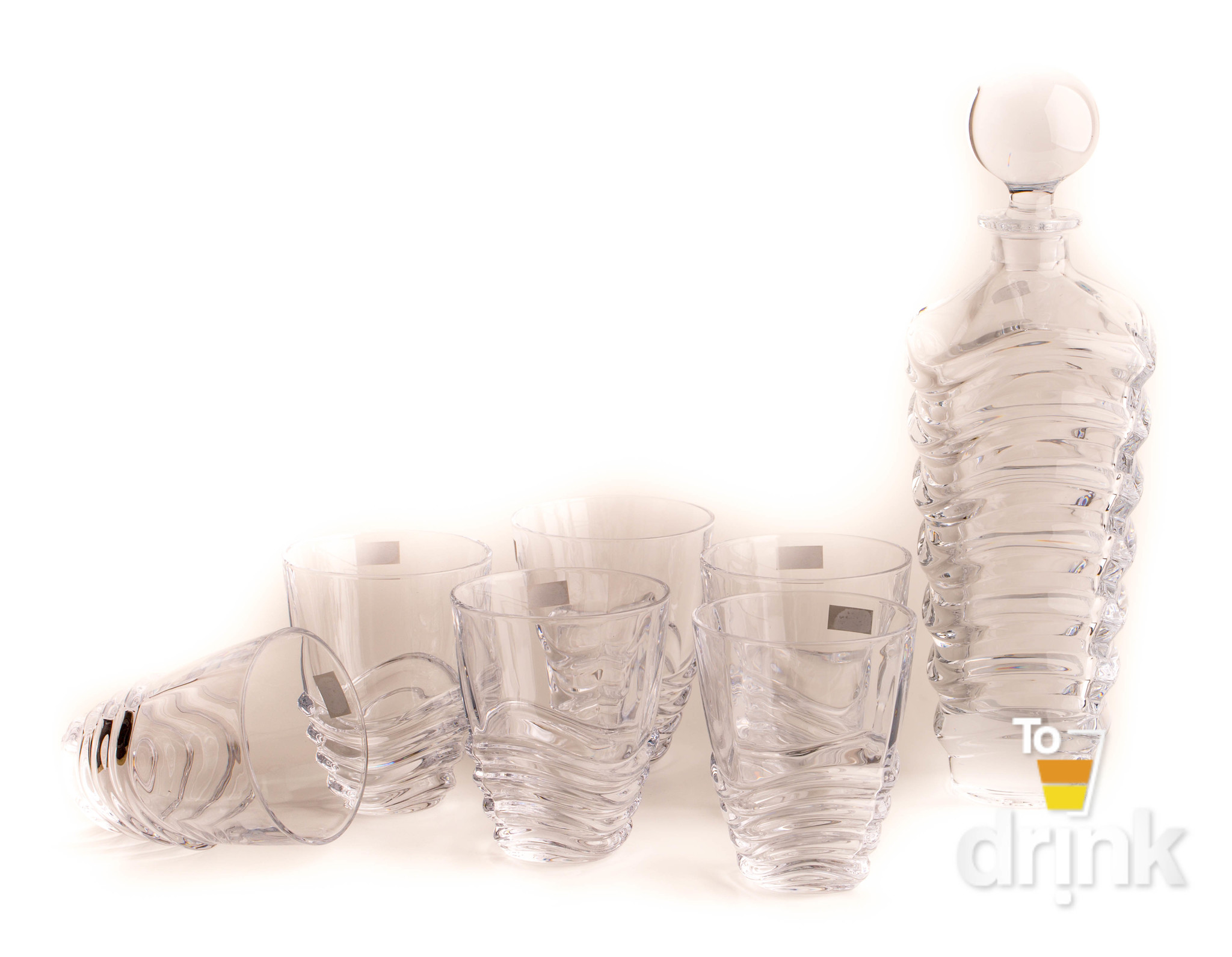 Набор для виски 7 предметов WAVE elff ceramics набор для виски 7 предметов
