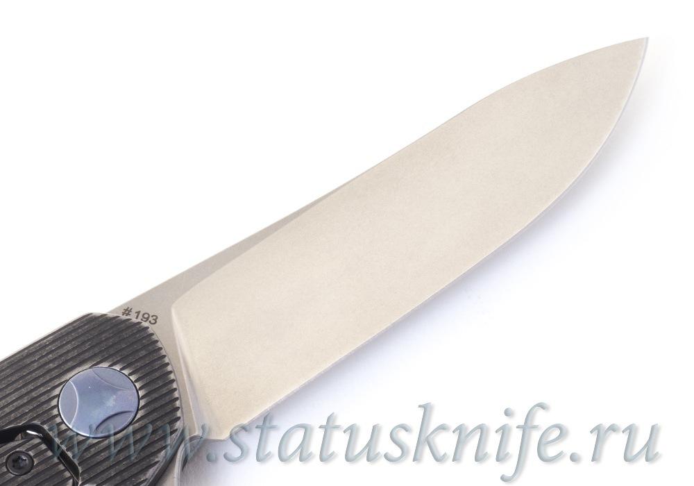 Нож CKF S.S.E. Black (М390, титан, подшипники) SSE - фотография