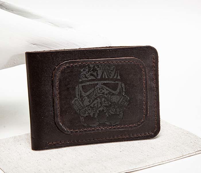 WB158 Мужской кошелек с изображением имперского штурмовика, «Boroda Design» фото 03