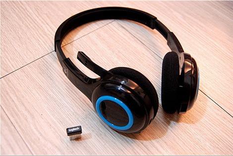 LOGITECH H600 Wireless Headset Black