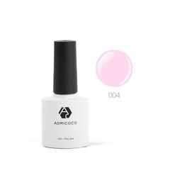 Цветной гель-лак ADRICOCO №004 розовый (8 мл.)