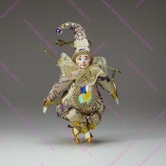 Гном Самоцвет- елочная игрушка