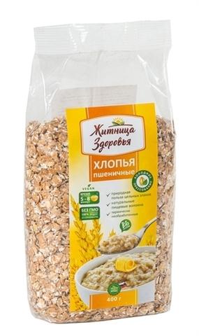 Хлопья Пшеничные, 400 гр. (Житница здоровья)
