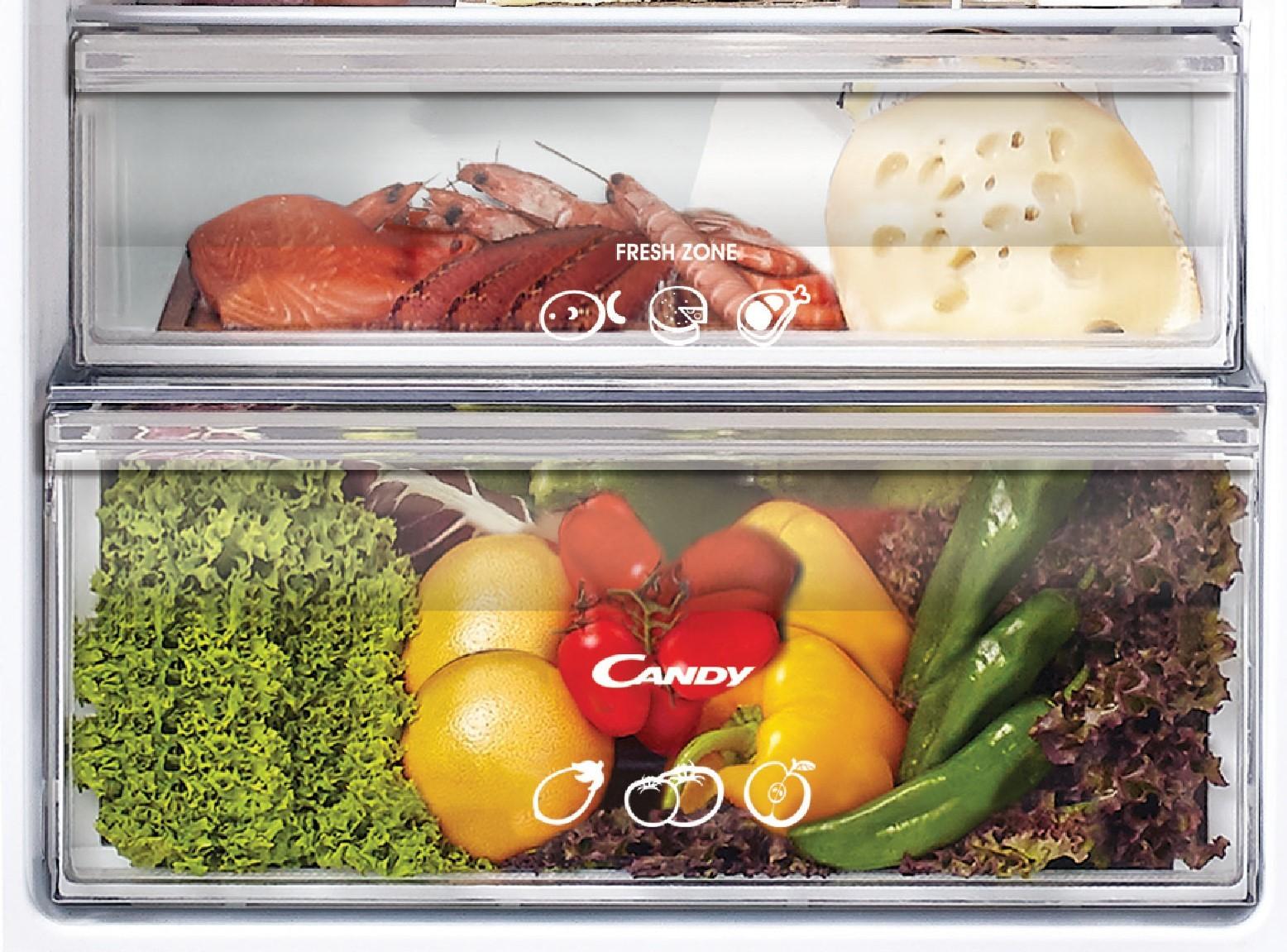 Встраиваемый холодильник Candy CKBBS182FT фото 2