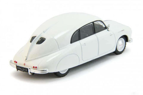 Tatra T600 Tatraplan white 1:43 DeAgostini Auto Legends USSR #198