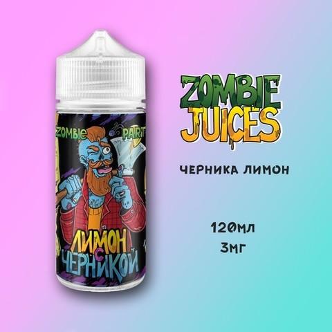 Черника + Лимон by Zombie Party 120мл