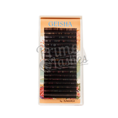 Ресницы Geisha, отдельные длины 18 линий