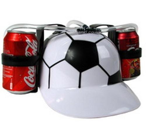 цена на Каска с подставками под банки пива «Футбол»