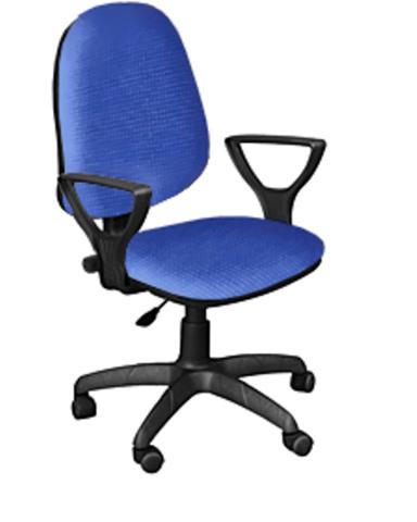 Кресло ПРЕСТИЖ-POLO газлифт ткань синяя