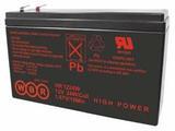 Аккумулятор WBR HR 1224W ( 12V 5,1Ah / 12В 5,1Ач ) - фотография