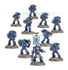 Start Collecting! Space Marines. Космодесантники