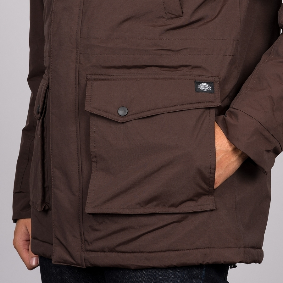 Куртка DICKIES Curtis (Chocolate Brown)