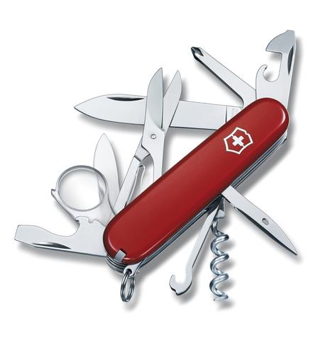 Нож Victorinox Explorer, 91 мм, 16 функций, красный123