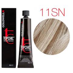 Goldwell Topchic 11SN (серебристо-натуральный блонд) - Cтойкая крем краска