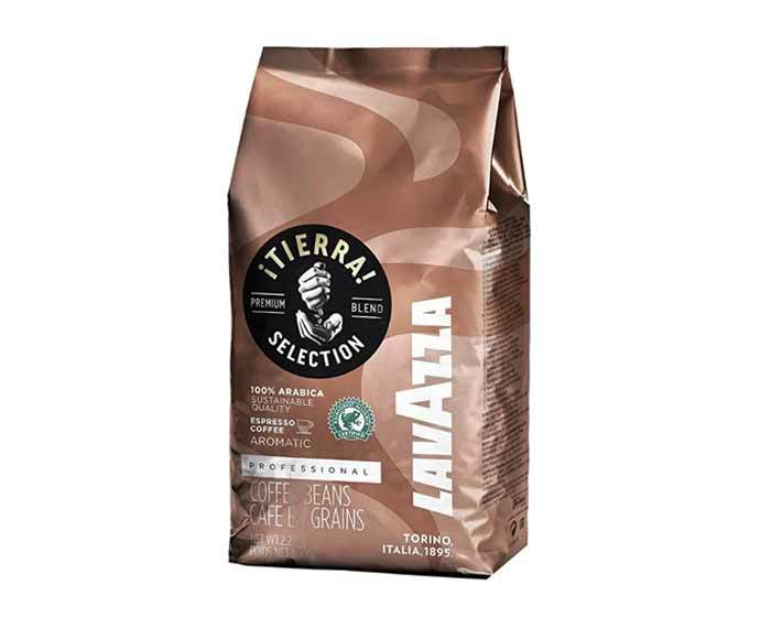 Кофе в зернах Lavazza Tierra Selection