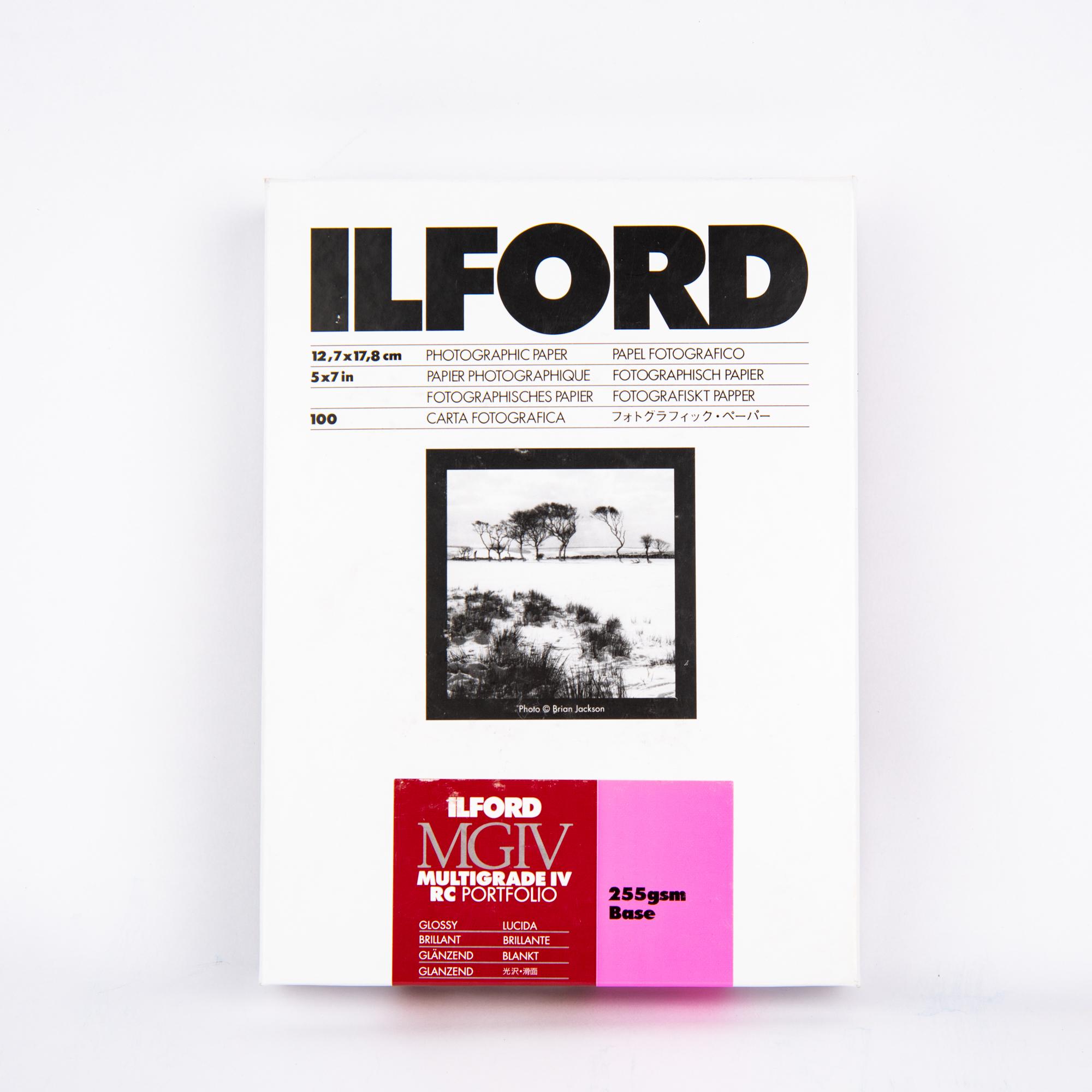 Фотобумага Ilford MG IV RC Portfolio Glossy 13x18 см, 100 л
