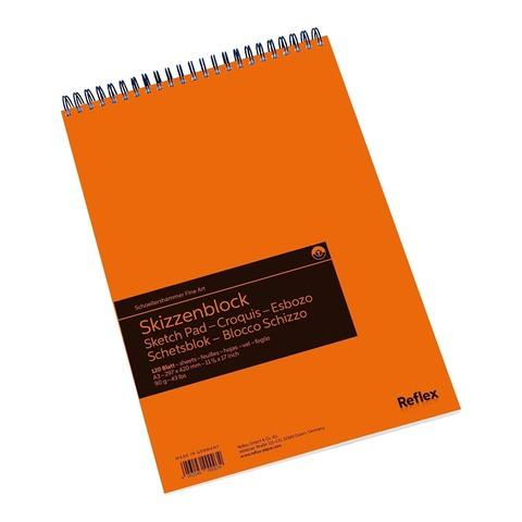 Альбом для графики Reflex Sketching, А3, 120 л., спираль по короткой стороне перфорация