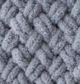 Пряжа Alize Puffy 428 серый