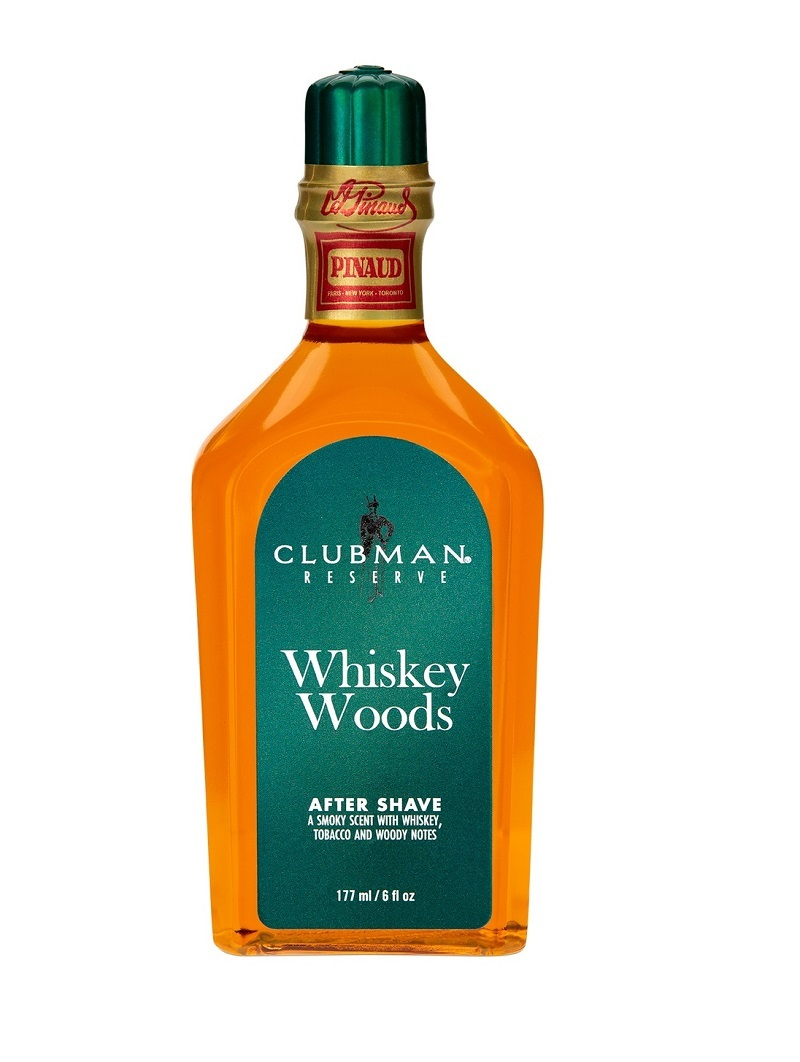 Лосьон после бритья Clubman After Shave Whiskey Wood